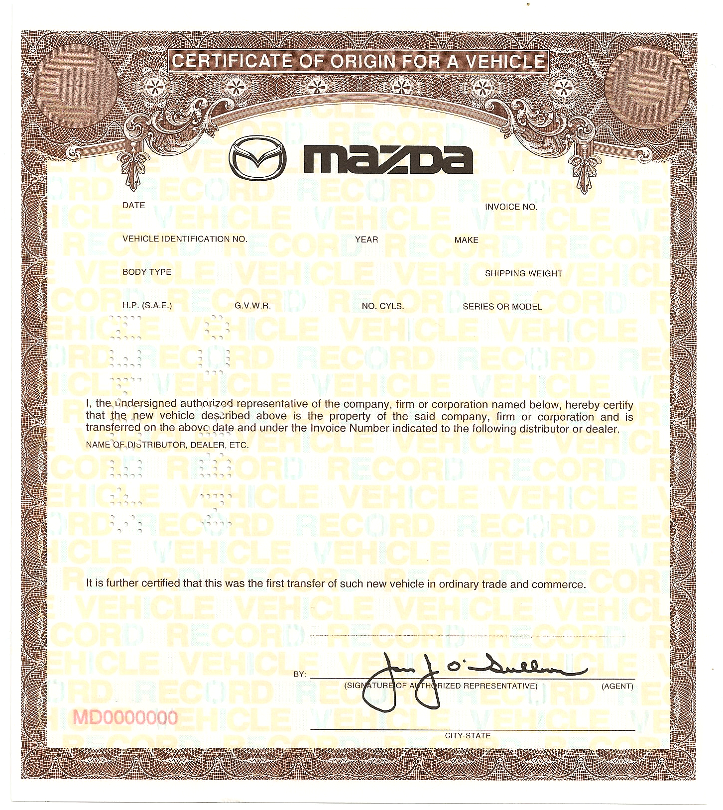 Certificate of origin template xflitez Choice Image